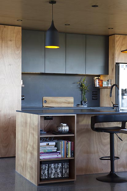 Use The Same Material As The Benchtop To Wrap Up Onto The Wall, For A  Splashback That Simplifies The Palette And Gives A Smart, Sleek Look.