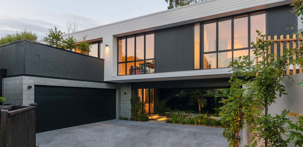 Auckland architects box home design