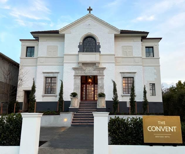 Auckland architecture of The Convent hotel in Grey Lynn